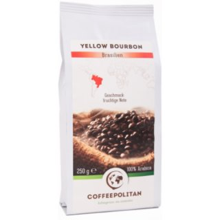 Yellow Bourbon - ganze Bohne 250g